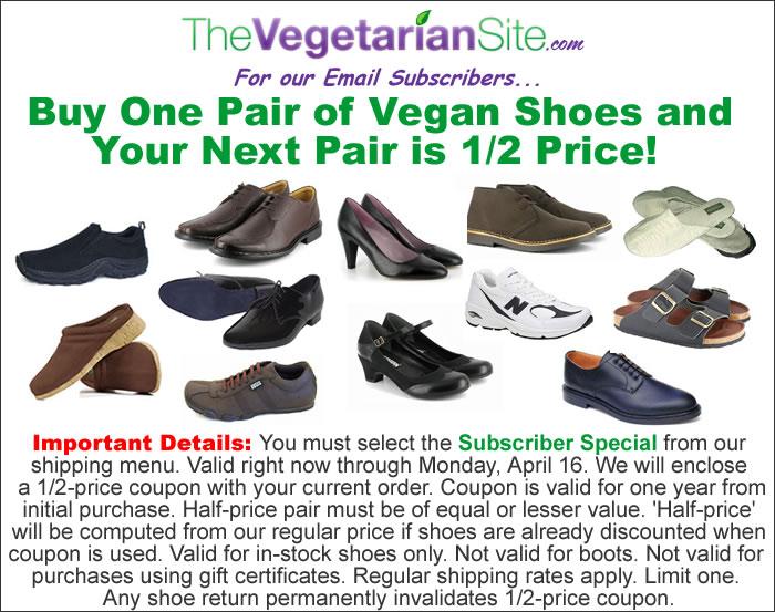 daca40714712b Buy Any Vegan Shoes and Get Next Pair at 1/2 Price   Vegan Retailer